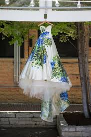 and green wedding dresses wedding dresses photos handpainted wedding dress by romona