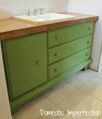 Dresser Style Bathroom Vanity by Young House Love House Crashing Style For Miles Inside Bathroom