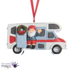 kaemingk santa claus vehicle hanging tree