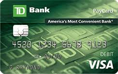 prepaid debit cards for prepaid debit cards for businesses td bank
