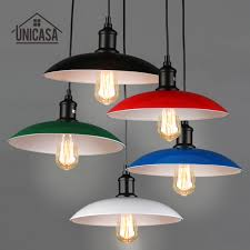 Modern Pendant Lighting Kitchen by Online Get Cheap Colourful Lamp Shades Aliexpress Com Alibaba Group