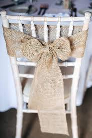 bows for wedding chairs diy ruffled burlap table runner tablecloth bows wedding