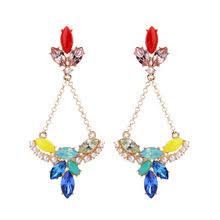 Colorful Chandelier Earrings Popular Gemstone Chandelier Earrings Buy Cheap Gemstone Chandelier