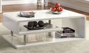 ninove i white high gloss coffee table from furniture of america