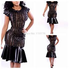 buy splicing dress club costumes cocktail dress party wear