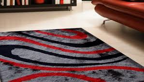 Pink And Black Rugs World Menagerie Brahim Redgray Area Rug Reviews Wayfair For Red