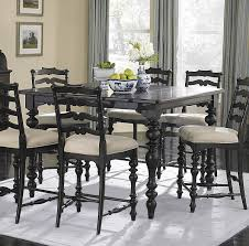Black Dining Room Set Black Counter Height Dining Set 5piece Counter Height Dining Room