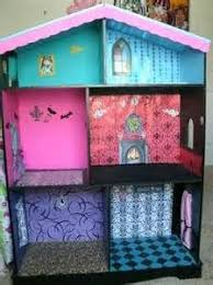 My Homemade Barbie Doll House by Simple Livin Diy Barbie Doll House Use Wood Grain Contact Paper