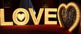 wedding backdrop letters letters wedding lights and letter hire in