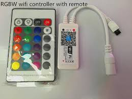 led strip lights wifi controller mini wifi rgb rgbw led controller with ir remote for led strip light