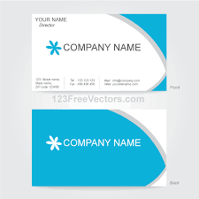 vector business card design template free vectors ui