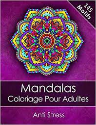 amazon fr mandalas livre de coloriage pour adultes anti stress