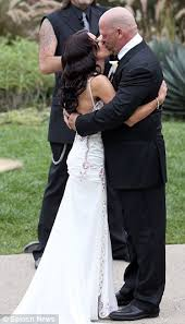 pawn star u0027s rick harrison weds fiancée deanna burditt at sunset