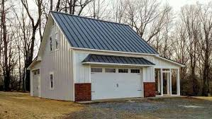How Much Does A Pole Barn Cost How Much Does A Metal Roof Cost