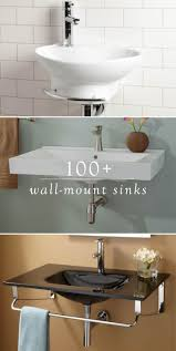 best ideas about small sink pinterest space saving baths when you remodel your small bathroom use one these wall mount