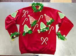 diy ugly holiday sweater buffalo exchange new u0026 recycled fashion