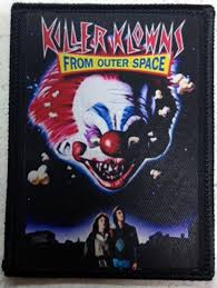 Killer Klowns Outer Space Halloween Costumes Killer Klowns Outer Space Patch 80 U0027s Horror Sci Fi