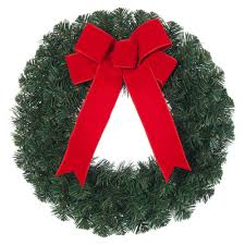 Home Depot Holiday Pay by Home Accents Holiday 28 In Artificial Christmas Grapevine Wreath