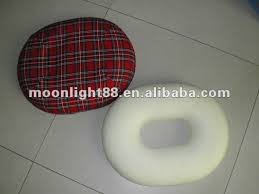 round shaped memory foam seat comfort chair cushion colorful chair