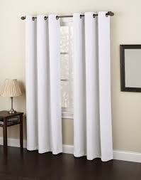 furniture charming grommet curtains for modern middle room ideas