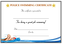 backstroke swimming certificate printable pictures to pin on