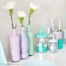 Diy Plastic Bottle Vase Coca Cola Bottle Vases Torie Jayne