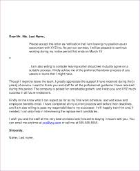 9 sample email resignation letters free sample example format