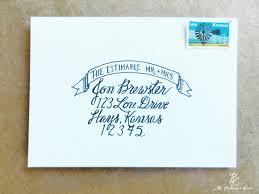 Wedding Envelopes Handwritten Wedding Calligraphy Round Up Wedding Calligraphy