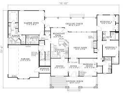 Southern Style House Plans With Porches by Southern Style House Plan 4 Beds 3 00 Baths 2373 Sq Ft Plan 17 2149