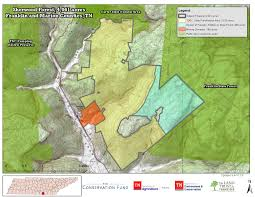 Map Of Franklin Tennessee by Protected 4 061 Acres In Sherwood Franklin U0026 Marion Cos The