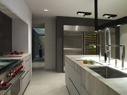 kitchen style contemporary kitchen high end stainless steel