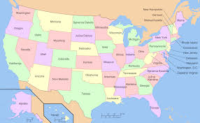 State Map Of United States by Map Of Usa With State Names World Map Usa States Map Us States Us