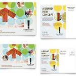 promotional postcard template 13 postcard templates for mac free