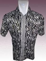 Baju Batik Batik baju batik batik lengan pendek motif mega mendung dengan background