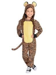 Kids Cheetah Halloween Costume Cheetah Cat Costume Wholesale Cat Girls Costumes
