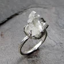 natural gem rings images Natural arkansas quartz crystal cluster from byangeline on etsy jpg