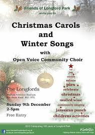 friends of longford park folp carols winter songs