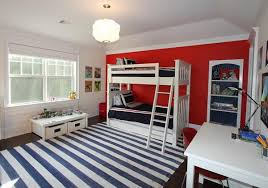 Red White Striped Rug Floor Rugs And Carpets With Wide Stripes 25 Interior Decorating Ideas
