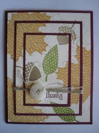 25 unique handmade fall cards ideas on thanksgiving