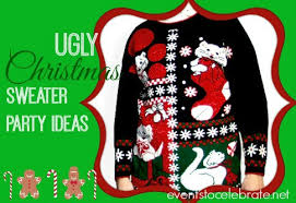 Christmas Sweater Party Ideas - ugly christmas sweater party ideas events to celebrate