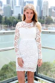 white lace cocktail dress dressed up