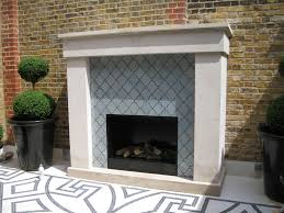 case study u2013 a unique outside fireplace in a london fifth floor