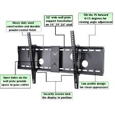 80 inch tv for sale on black friday amazon com videosecu tilt tv wall mount bracket for most 37 to 70