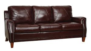 austin top grain leather sectional with ottoman austin sofa real leather furniture