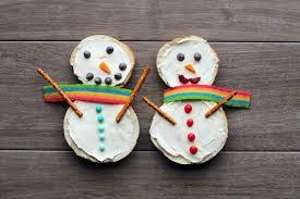 bagel snowmen babble