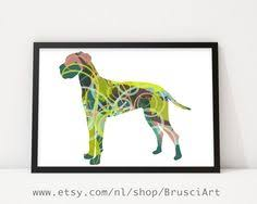 Great Dane Home Decor Great Dane Large Poster Watercolor Art Print Animal Home Decor