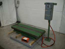 used electric lift table used material handling equipment southworth ls4 36 24 x 60 32 h