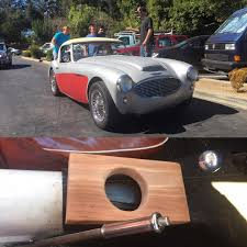 Cool Cup by Check Out The Homemade Redwood Coffee Cup Holder In This Dude U0027s