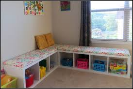 into my world of thoughts playroom benches diy