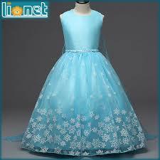 aliexpress com buy 2016 ice blue girls clothes elsa dress party